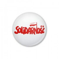 BADGE 56MM SOLIDARNOŚĆ