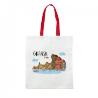 SHOPPING BAG GDAŃSK AKWARELA Ż
