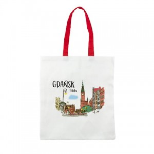 SHOPPING BAG GDAŃSK AKWARELA S